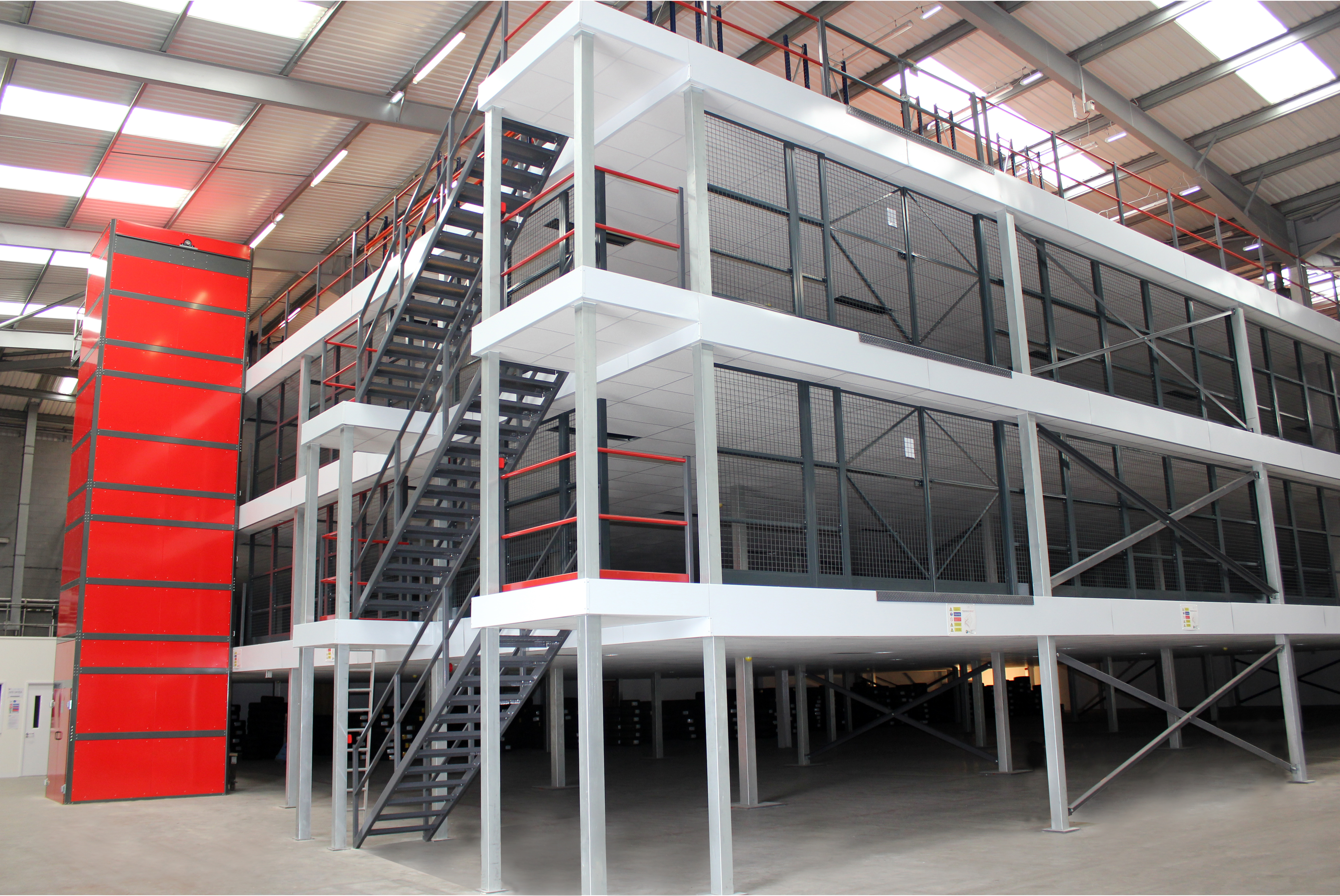 Five things you might not know about mezzanine flooring