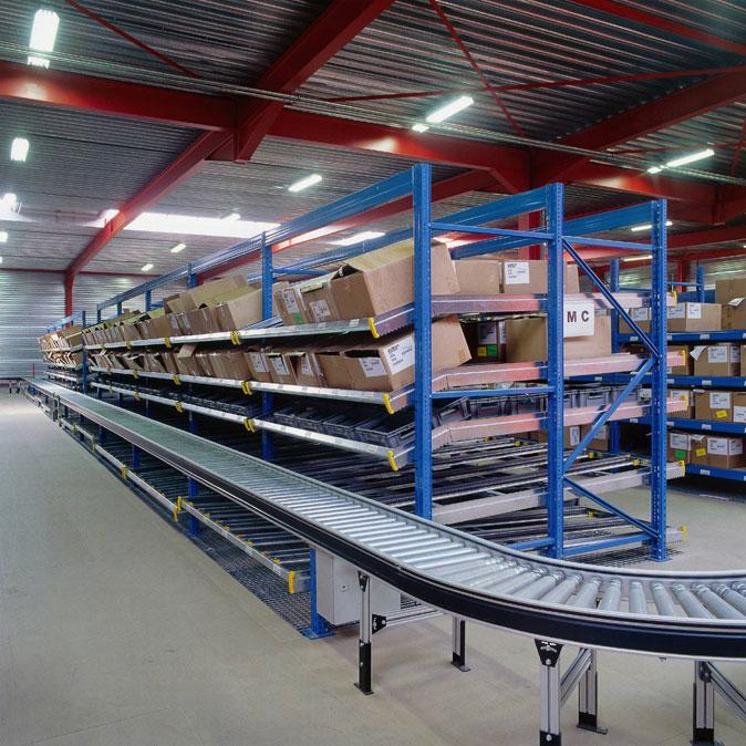 Carton Flow Shelving Solutions Logical Storage